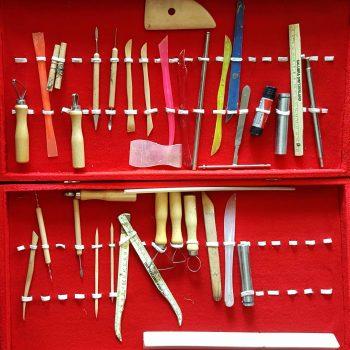 ابزارهای مجسمه سازی